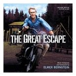 Elmer Bernstein - The Great Escape soundtrack CD cover
