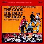 Ennio Morricone - The Good, The Bad and The Ugly soundtrack CD cover