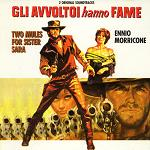 Ennio Morricone: Two Mules for Sister Sara and Days of Heaven - soundtrack album CD cover