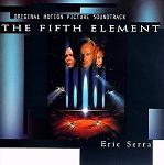 Eric Serra - The Fifth Element soundtrack CD cover