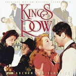 Erich Wolfgang Korngold: Kings Row & The Sea Wolf - double album cover