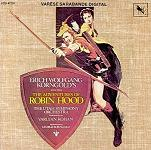 Erich Wolfgang Korngold: The Adventures of Robion Hood CD cover