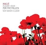 For The Fallen: Music by Edward Elgar and Arnold Bax - album cover