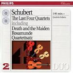 Franz Schubert: The Last Four Quartets played by Quartetto Italiano