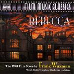 Franz Waxman - Rebecca soundtrack CD cover
