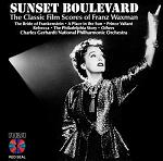 Franz Waxman - Sunset Boulevard soundtrack CD cover