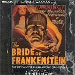 Franz Waxman - The Bride of Frankenstein soundtrack CD cover