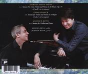 French Impressions: Joshua Bell and Jeremy Denk - CD back cover