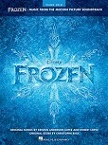 Frozen: Music From The Motion Picture Soundtrack - sheet music book cover