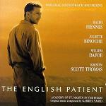 Gabriel Yared: The English Patient - soundtrack CD cover