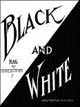 George Botsford: Black and White Rag - sheet music cover