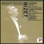 Georges Bizet: Carmen and L'Arlesienne Suites - album CD cover