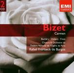Georges Bizet: Carmen the Complete Opera - double album CD cover