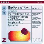 Georges Bizet: The Best of Bizet - double album CD cover