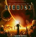 Graeme Revell - The Chronicles of Riddick soundtrack CD cover