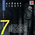 Gyorgy Ligeti Edition 7: Chamber Music CD cover