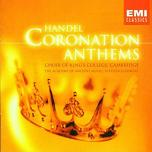 Handel - Coronation Anthems CD cover
