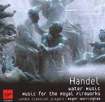 Handel - Water Music and Music for the Royal Fireworks Naxos CD cover