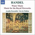 Handel - Water Music and Music for the Royal Fireworks Virgin Classics CD cover