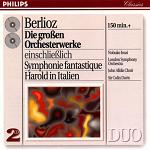 Hector Berlioz - Great Orchestral Works double-CD cover
