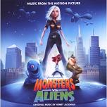 Henry Jackman - Monsters vs. Aliens soundtrack CD cover