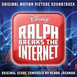 Henry Jackman: Ralph Breaks the Internet - film score album cover