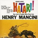 Henry Mancini - Hatari! soundtrack CD cover