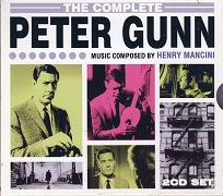 Henry Mancini - The Complete Peter Gunn double CD album cover