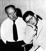 Hitchcock and Herrmann photo, a prophetic pose?