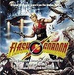 Howard Blake score - Flash Gordon soundtrack album cover