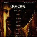 Howard Shore and Various Artists: Se7en - soundtrack CD cover
