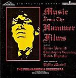James Bernard and others - Music from the Hammer Films CD cover