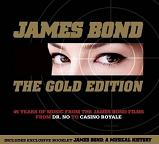 James Bond: The Gold Edition - music from the James Bond 007 films - CD double album cover