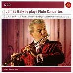 James Galway plays Flute Concertos - box set 12-CD cover