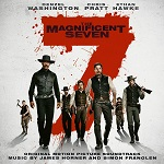 James Horner and Simon Franglen: The Magnificent Seven - film score album cover