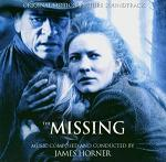 James Horner - The Missing soundtrack CD cover