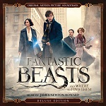 James Newton Howard: Fantastic Beasts and Where to Find Them - film score album cover