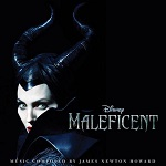 James Newton Howard: Maleficent - film score soundtrack album cover