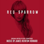 James Newton Howard: Red Sparrow - film score album cover