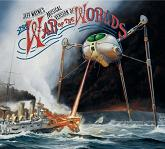 Jeff Wayne - The War of the Worlds double album CD cover