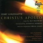Jerry Goldsmith: Christus Apollo - album CD cover