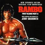 Jerry Goldsmith - Rambo: First Blood part 2 - soundtrack CD cover