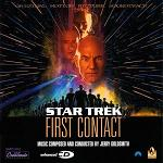 Jerry Goldsmith - Star Trek : First Contact soundtrack CD cover