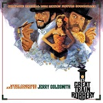 Jerry Goldsmith: The Great Train Robbery - film score album cover
