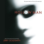 Jerry Goldsmith: The Hollow Man - film score album cover