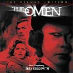 Jerry Goldsmith: The Omen (Deluxe Edition) - soundtrack CD cover