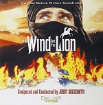 Jerry Goldsmith: The Wind and the Lion - film score album cover