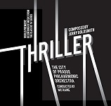 Jerry Goldsmith: Thriller - film score album cover
