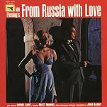 John Barry: From Russia with Love soundtrack CD cover