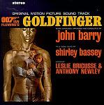 John Barry - Goldfinger soundtrack CD cover